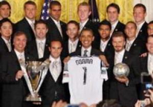 Обама пошутил над Бекхэмом и намекнул на солидный возраст спортсмена