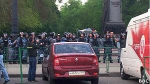 Москва: поліція розігнала табір опозиції на Чистих прудах