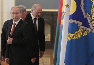 Путін свій перший після інавгурації закордонний візит здійснить до Білорусі