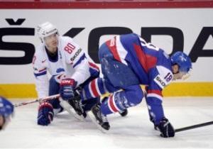 ЧМ по хоккею: Словакия с большим трудом обыграла Францию, Чехия уничтожила Германию