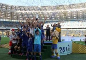 Переможцем Шкільного Євро-2012 стала команда з Сум