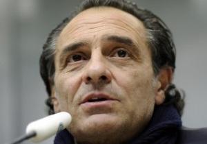 Наставник збірної Італії назвав попередній склад на Євро-2012