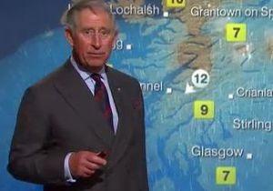 Принц Чарльз вилаявся в ефірі прогнозу погоди