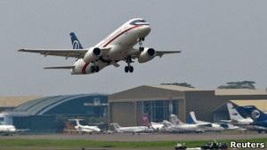 Аварія літака Superjet: пошукову операцію відклали до п ятниці