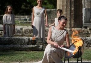 В Греции зажжен огонь Олимпийских игр-2012 в Лондоне