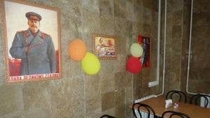 У Криму спалахнули суперечки через їдальню з портретом Сталіна
