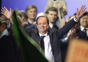 Фотогалерея: Vive le President. Олланд стає новим президентом Франції