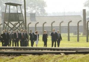Збірна Італії відвідає Освенцим перед Євро-2012