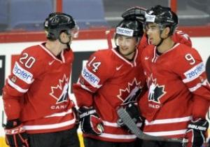 ЧМ по хоккею: Канада одолела Словакию, Чехия - Данию