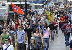 Рух Захопи Уолл-стріт проводить мітинг у Нью-Йорку