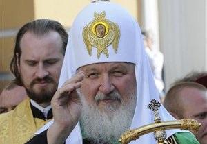 Патріарху Кирилу подарували цуценя на прізвисько Троян