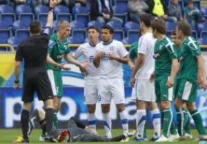 Форварда Дніпра дискваліфікували на три матчі за небезпечний удар воротаря Оболоні
