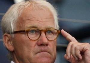 Ольсен: Сборная Дании не будет играть на Евро-2012 как Челси на Кам Ноу