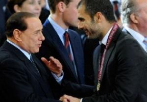 Берлускони хочет переманить Гвардиолу в Милан