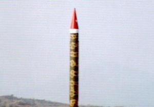 Пакистан успішно випробував балістичну ракету