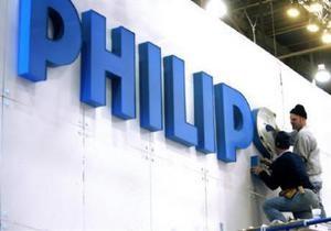 Philips в першому кварталі збільшив прибуток на 80,4%