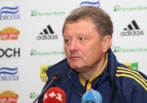 Маркевич: Команда не може відійти від програшу Спортінгу