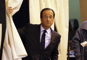 Головний суперник Саркозі проголосував на виборах президента Франції