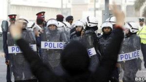 Служба безпеки Бахрейну охороняє порядок на тренуваннях Формули-1