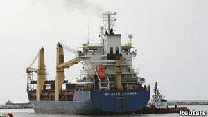 Український орендатор затриманого судна Atlantik Cruiser: Це не наш вантаж