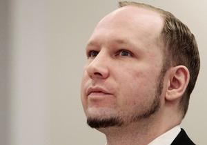 Поліція затримала і вислала з Норвегії  коханку Брейвіка