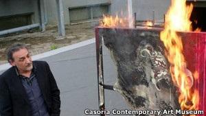 В музеї в Італії палять картини на знак протесту проти заходів економії