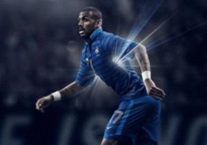 Сборная Франции представила новую форму на Евро-2012