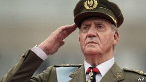 Короля Іспанії просять залишити посаду в WWF