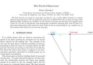 У США фізик уникнув штрафу за порушення ПДР, скориставшись науковими доказами