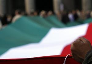 Італія відкладе план врівноваження бюджету на рік