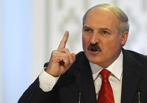Лукашенко будує барикади на шляху опозиції до пролетаріату