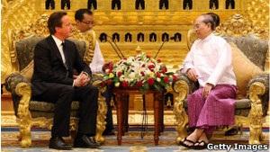 Британський прем єр-міністр закликає призупинити санкції проти Бірми