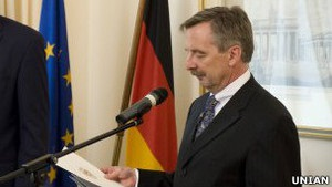 Німецький посол про лікування Тимошенко в його країні: це цілком реально