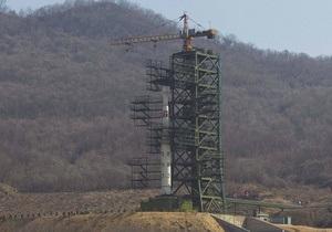 Північна Корея визнає, що запуск ракети з супутником був невдалим