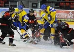 Хоккей: Украина обыграла Японию в контрольном матче