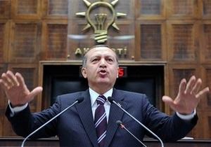 Туреччина готує заходи у відповідь на порушення її кордону військами Сирії