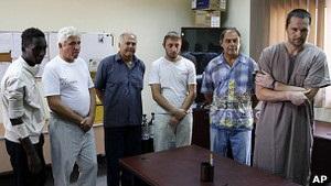 У Лівії почали судити заарештованих українців