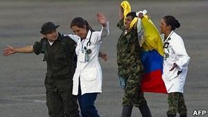 Колумбійське угрупування ФАРК звільнило заручників, яких утримувало понад 10 років