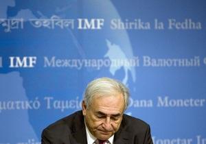 Завтра екс-глава МВФ Стросс-Кан виступить у Києві з публічною лекцією на тему майбутнього світової економіки