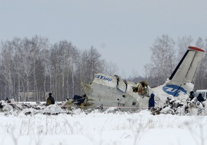 Українців не було на борту літака, що розбився під Тюменню, - попередні дані