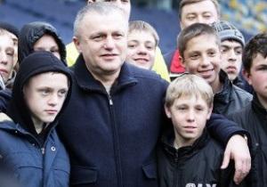 Суркіс розповів, скільки вболівальників прийде на матч Динамо і Чорноморця
