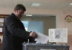 Голосування на президентських виборах в Південній Осетії завершилося