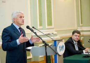 Литвин вважає вчинок Порошенка мужнім