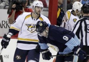 NHL: Шайба Радулова не врятувала Нешвілл від поразки в матчі з Піттсбургом
