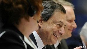 Голова ЄЦБ: найгірше для єврозони позаду