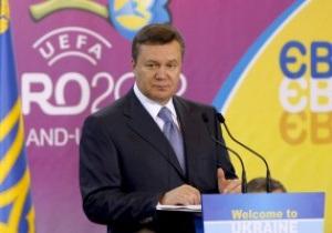 Янукович признал, что Евро-2012 не окупится