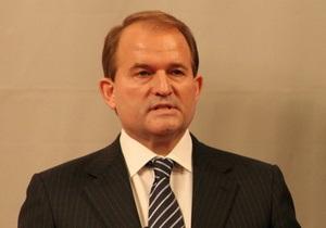 Медведчук заявив про повернення у публічну політику