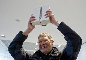 За три дні Apple продала три мільйони iPad