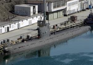 Джерело: У квітні український підводний човен Запоріжжя самостійно вийде в море