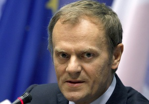 Туск: Знаємо, що з багатьма інвестиціями не встигнемо до Євро-2012